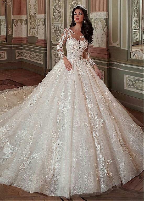 Pin von Mona Hammad auf Dresses | Pinterest | Hochzeitskleider ...