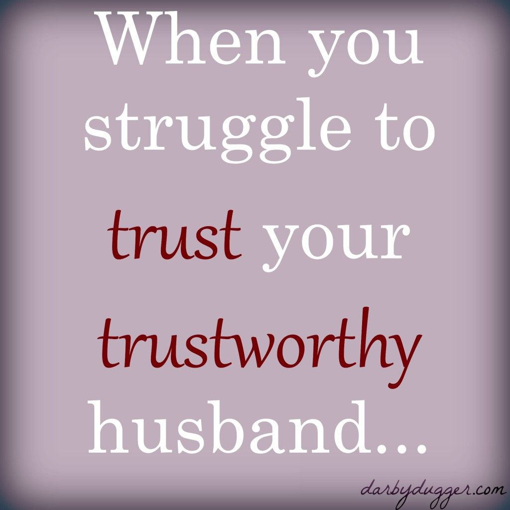 How to get over trust issues in a marriage