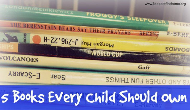 5 books every child should own