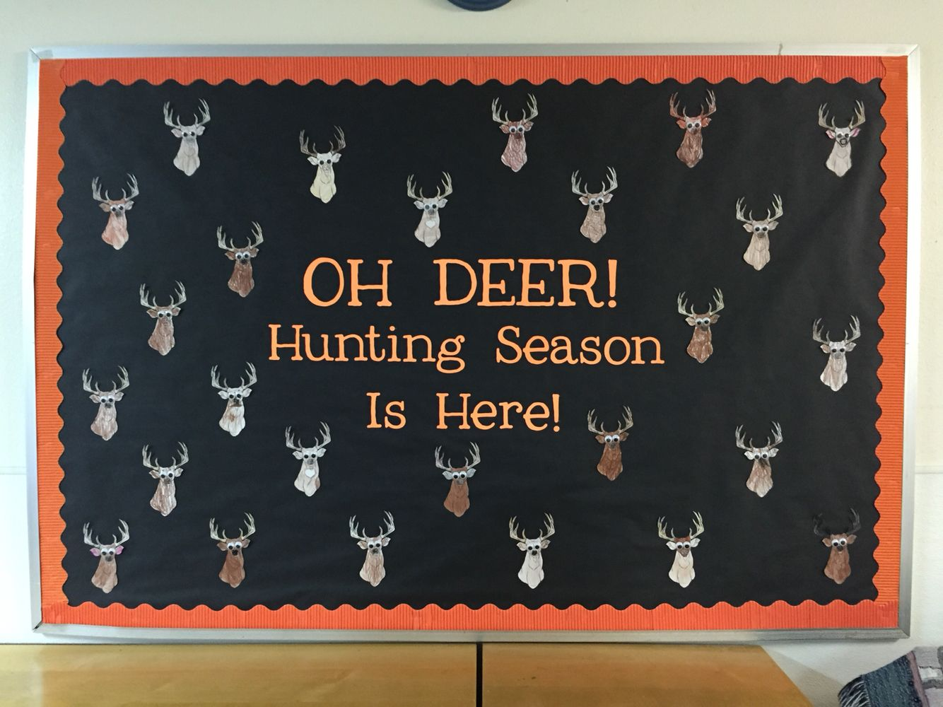 A Cute Deer Hunting Themed Bulletin Board That S Perfect