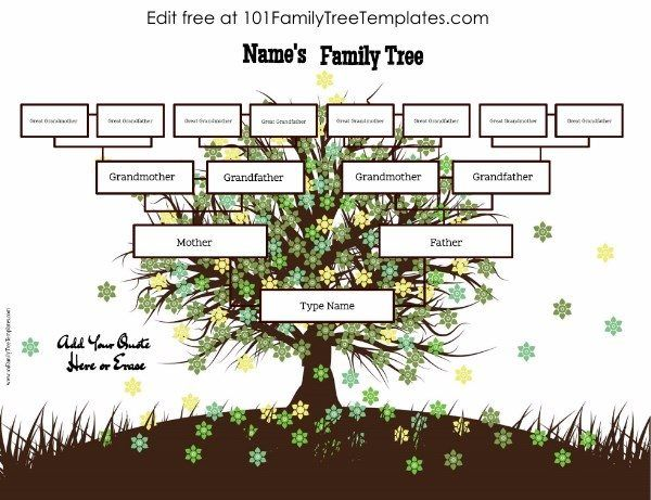 family tree generator family tree templates in 2018 pinterest