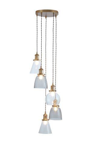 Buy radius 5 light industrial cluster pendant online today at next rep of ireland
