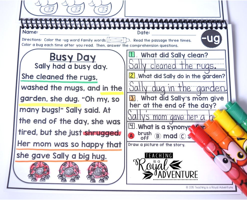 - FREE Phonics Based Reading Passages Fluency And Skill Based
