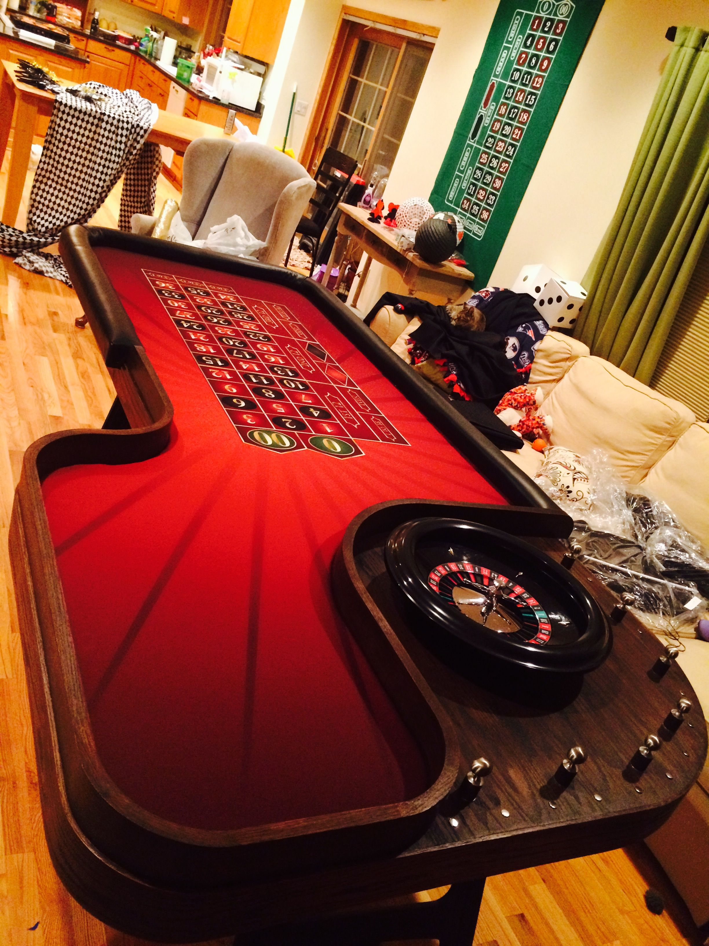 Custom Roulette Table Roulette Table Roulette Doubledown Casino
