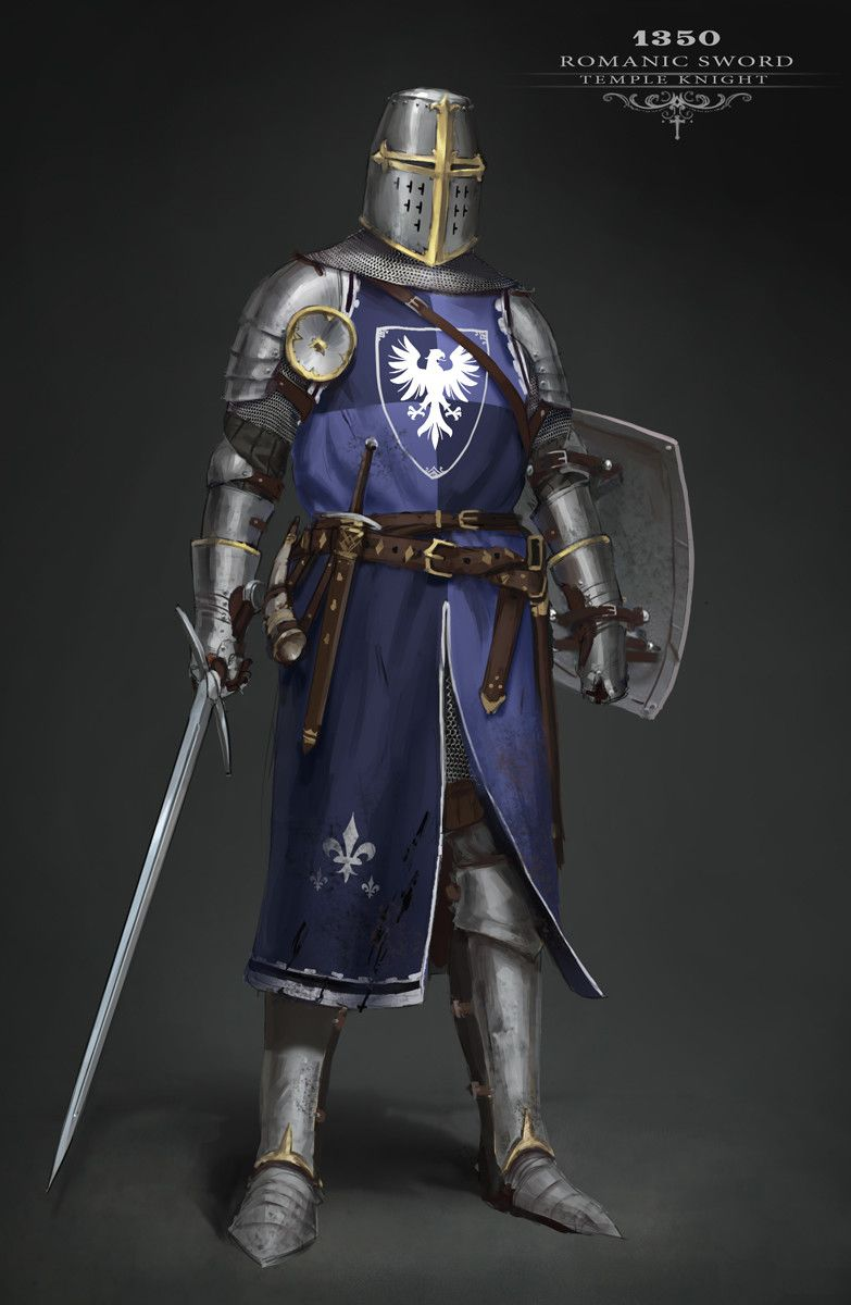 Medieval knights collection. Personal project, started ...