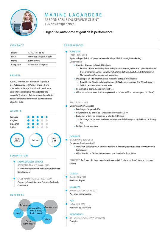Cv Classique Cv Traditionnel Cv Parfait Cv Serieux Resume Design Template Creative Cv Resume Design