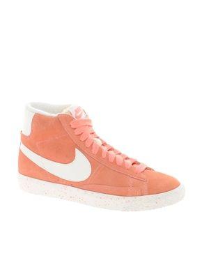 Nike - Blazer - Baskets mi-hautes - Orange