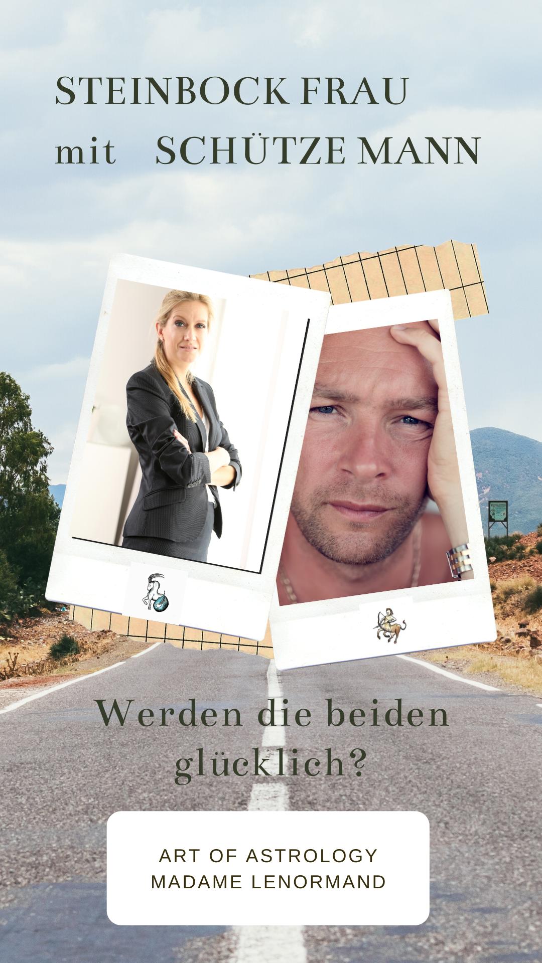 Schütze Frau Und Steinbock Mann
