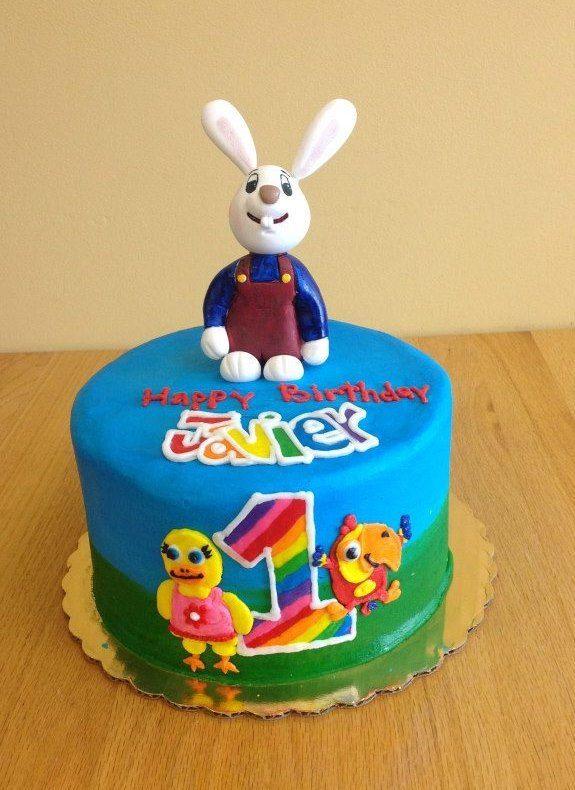 Bunny Cake from Sara's Sweets Bakery Grand Rapids MI