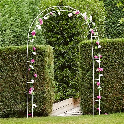 could decorate it way better than this for your ceremony metal garden arch kmart