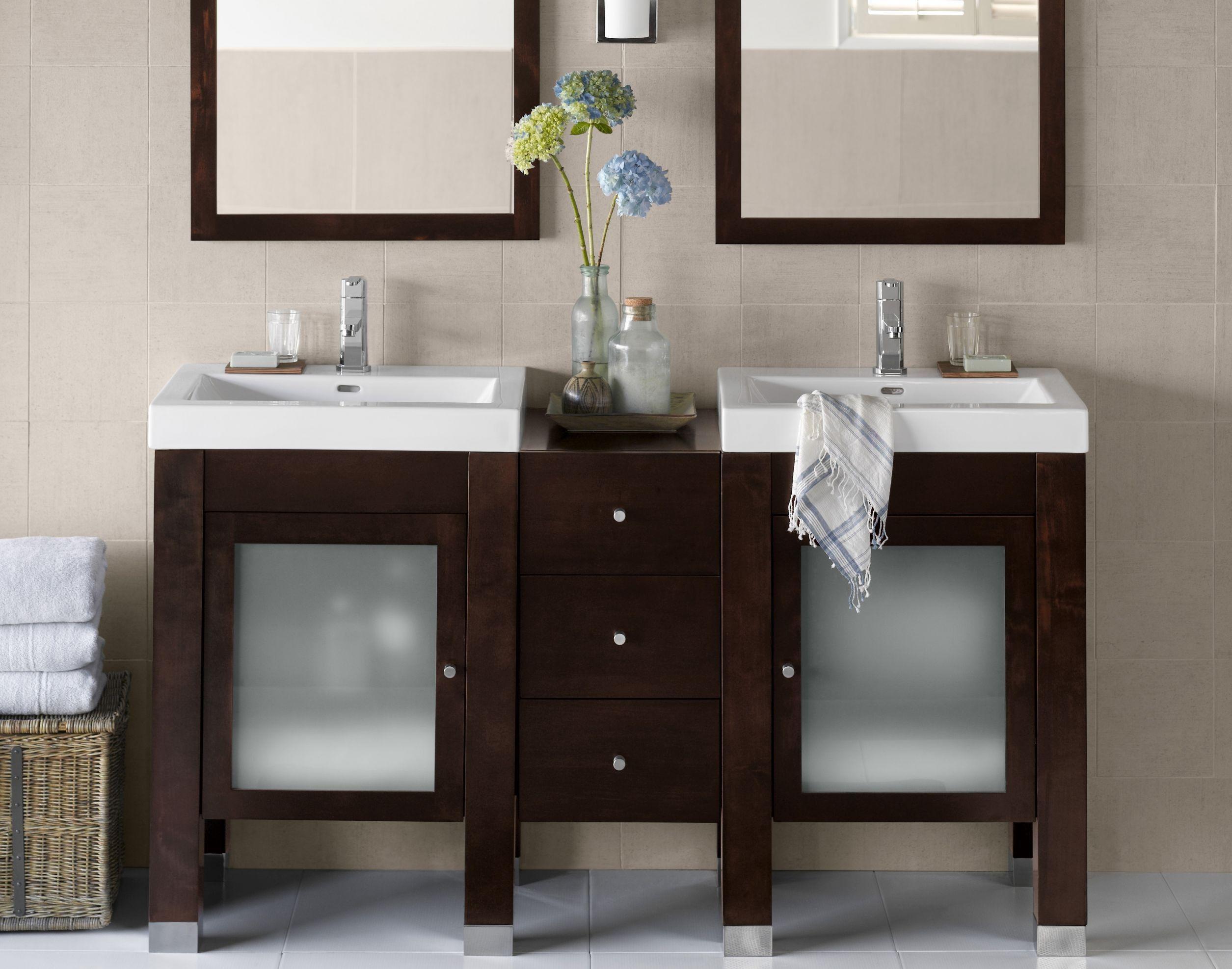 42 Inch Vanity Lowes Double Vanity Bathroom Bathroom Vanity Designs Small Bathroom Vanities