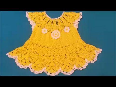 Robe bébé au crochet / Modèles pour Bébé au Crochet