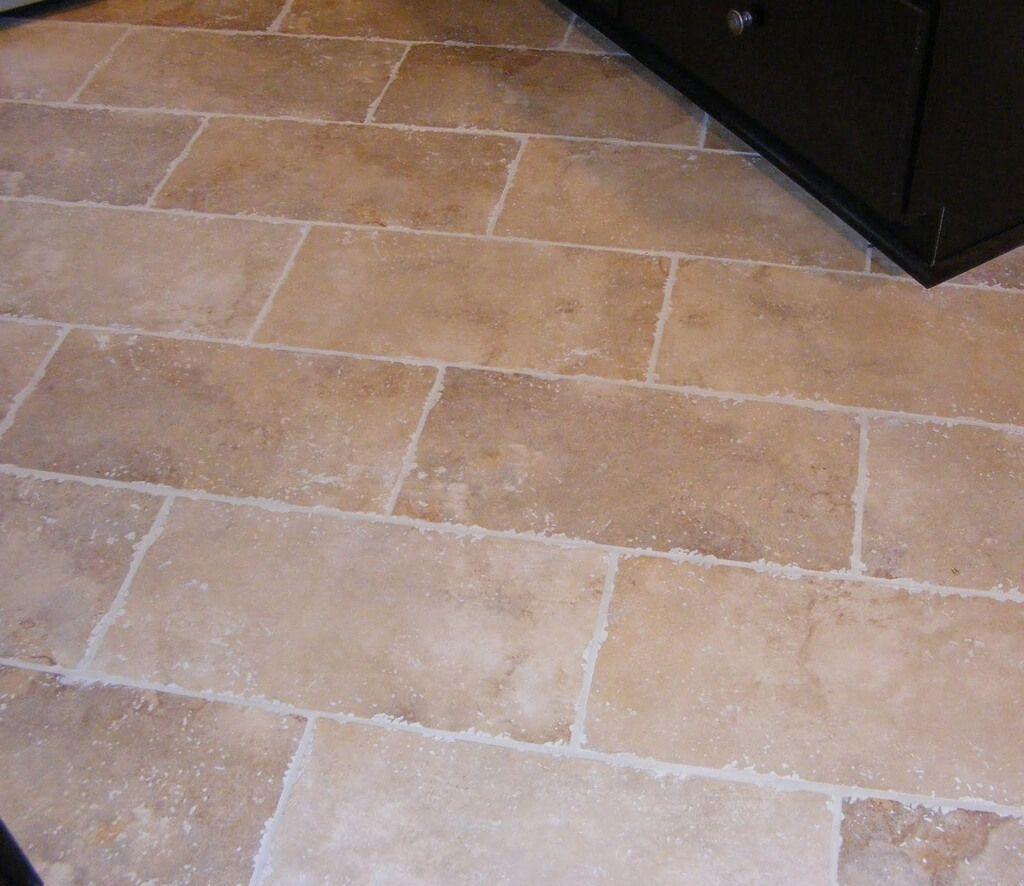Rustic Kitchen Floor Tile Ideas In Brick Pattern Tiled Kitchen Floor Ideas Floor Tile Ideas For White Kitch Tile Floor Patterned Floor Tiles Kitchen Floor Tile