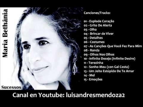 Maria Bethania Sucessos Recopilacion Maria Bethania Musicas