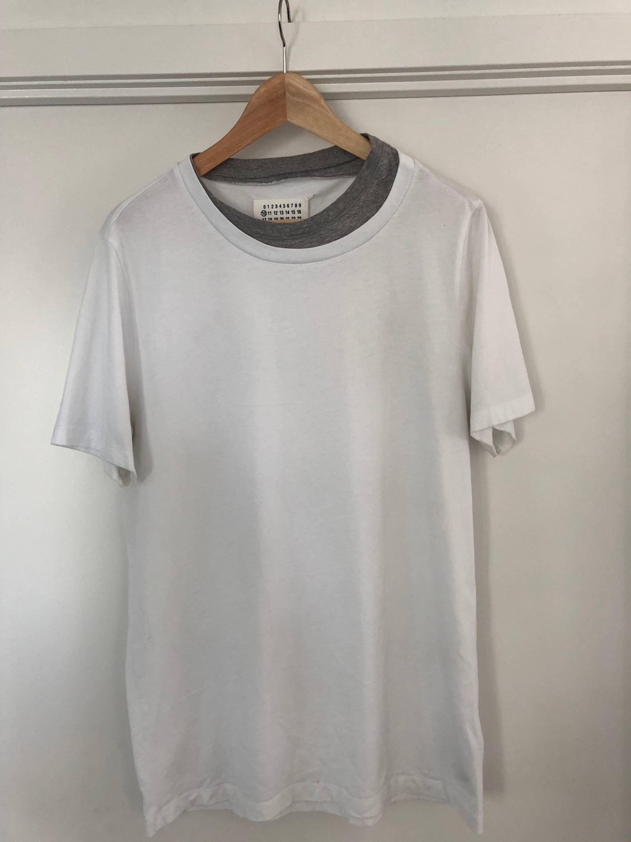 Maison Margiela Maison Margiela Double Collar T Shirt Size M