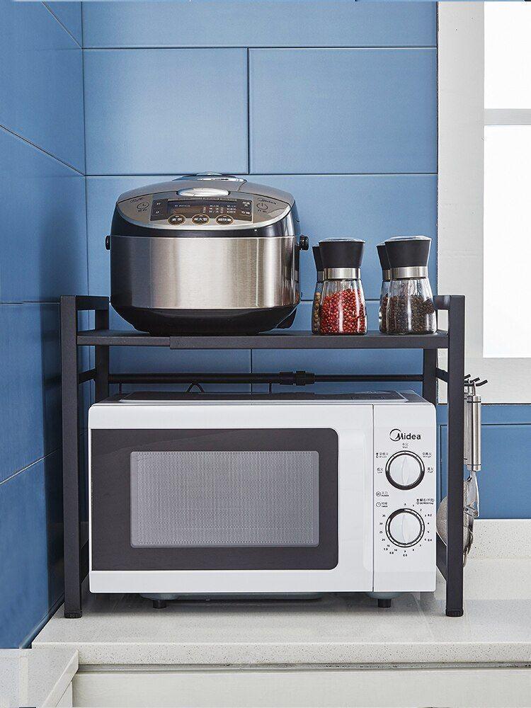 kitchen rack microwave oven shelf