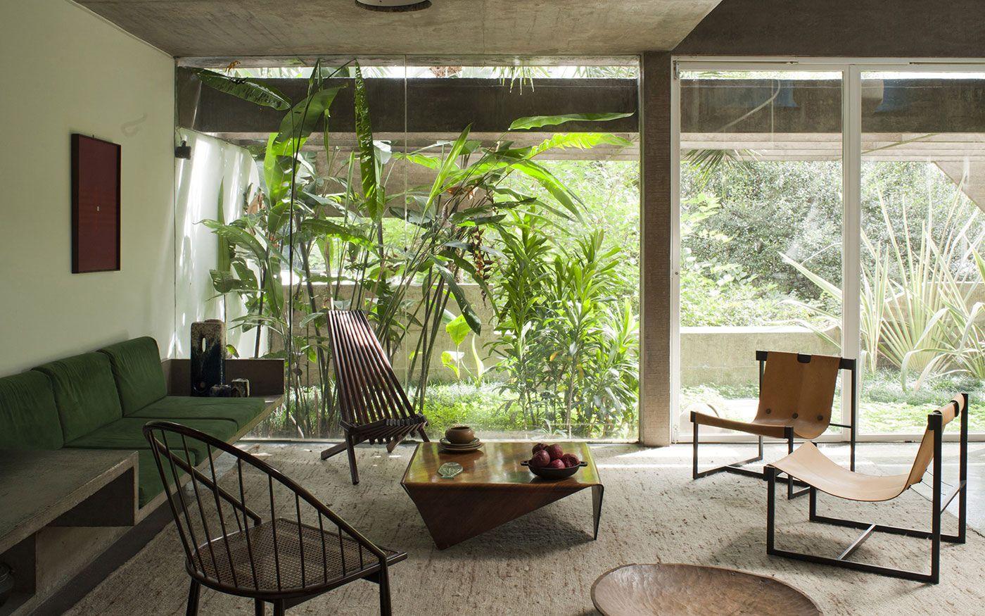katinsky house brésil #modernisme | Séjours | Pinterest | Bresil ...