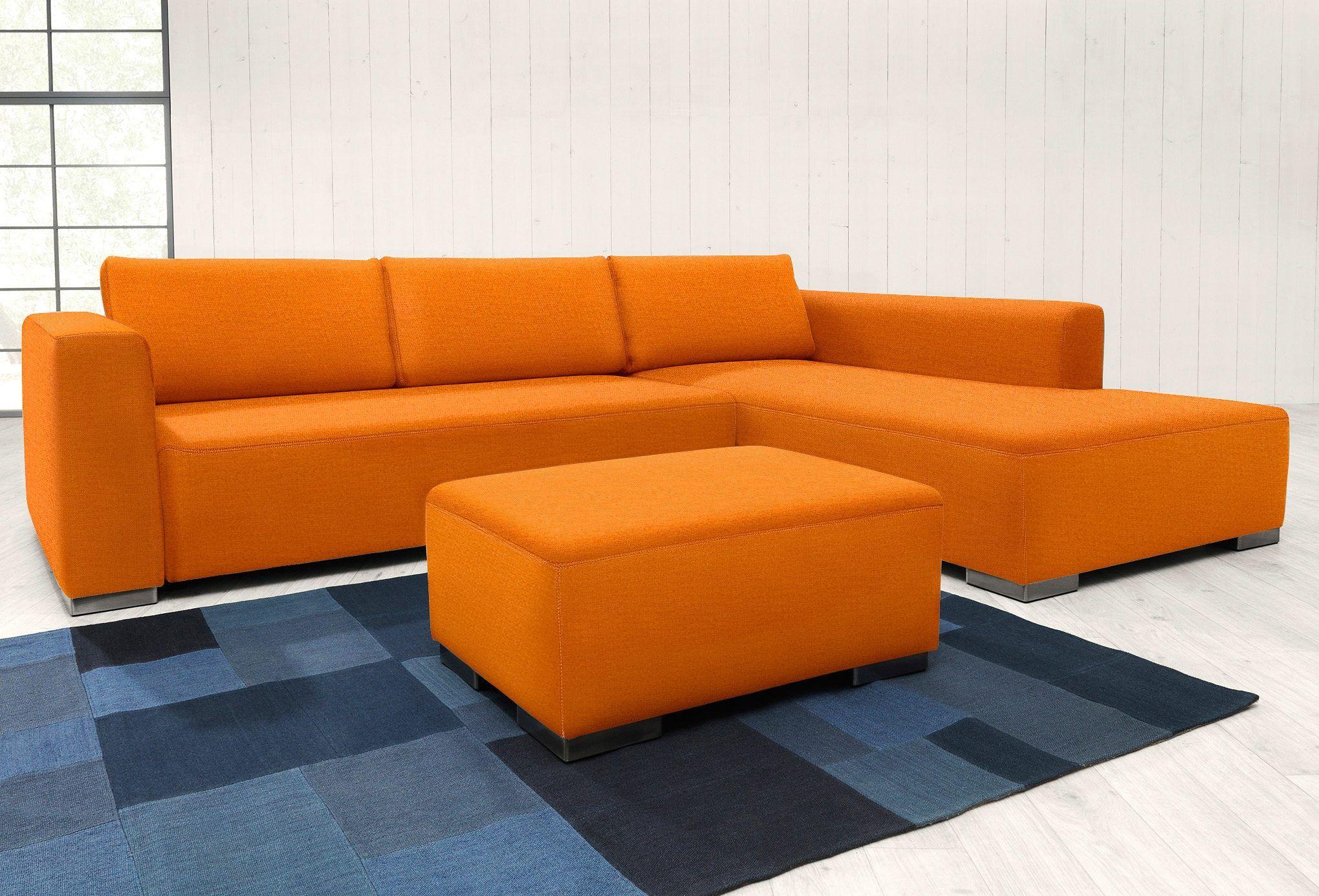 Tom Tailor Polsterecke Orange Kunststofffuss Heaven Style Colors Mit Schlaffunktion Mit Bettkasten Jetzt Bestellen Unter Https Ecksofas Sofa Haus Deko