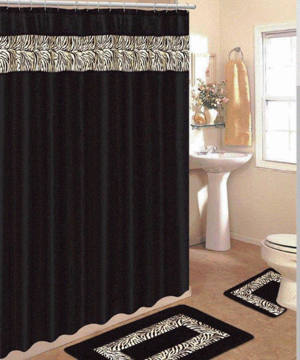 Animal Print Bathroom Decor Awesome Bathroom Shower Curtain and