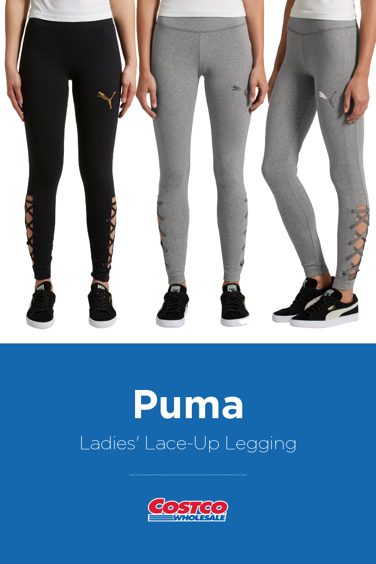 b3b3dee5b0f Puma Ladies' Lace-Up Legging | Costco Fashion in 2019 | Lace up ...
