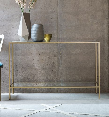 Siena Coffee Table With Metal Legs And Glass Top Mobilya