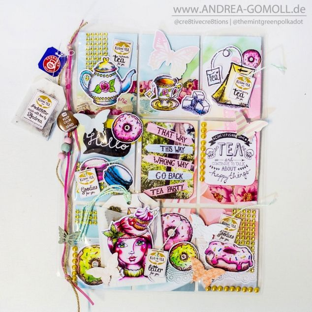 Coffee and Tea themed Pocketletters by Cre8tive Cre8tions by Andrea Gomoll