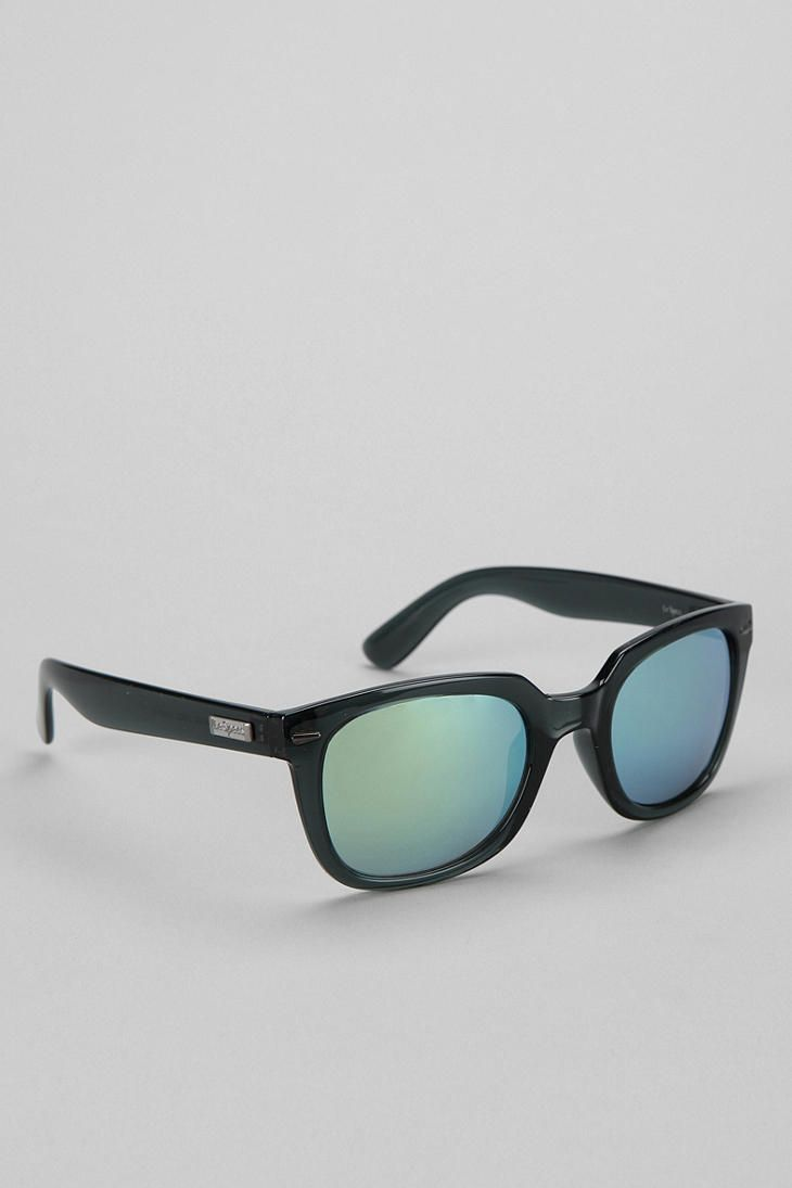 Le Specs Miso Cool Square Sunglasses Online Only