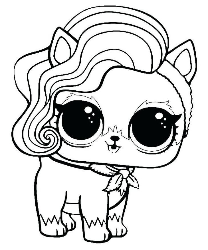 Lol Surprise Coloring Pages Pets Unicorn Coloring Pages Cute Coloring Pages Bunny Coloring Pages