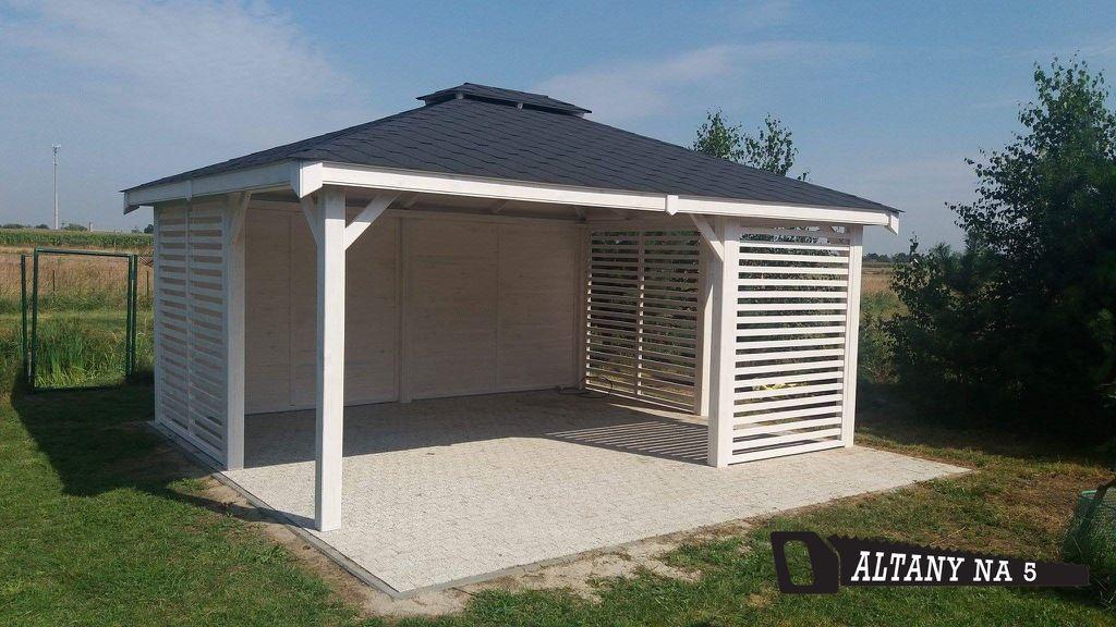 Altanka Ogrodowa 4x5 Altanki Altany Wiata Altana 7890392556 Allegro Pl Outdoor Structures Outdoor Garden