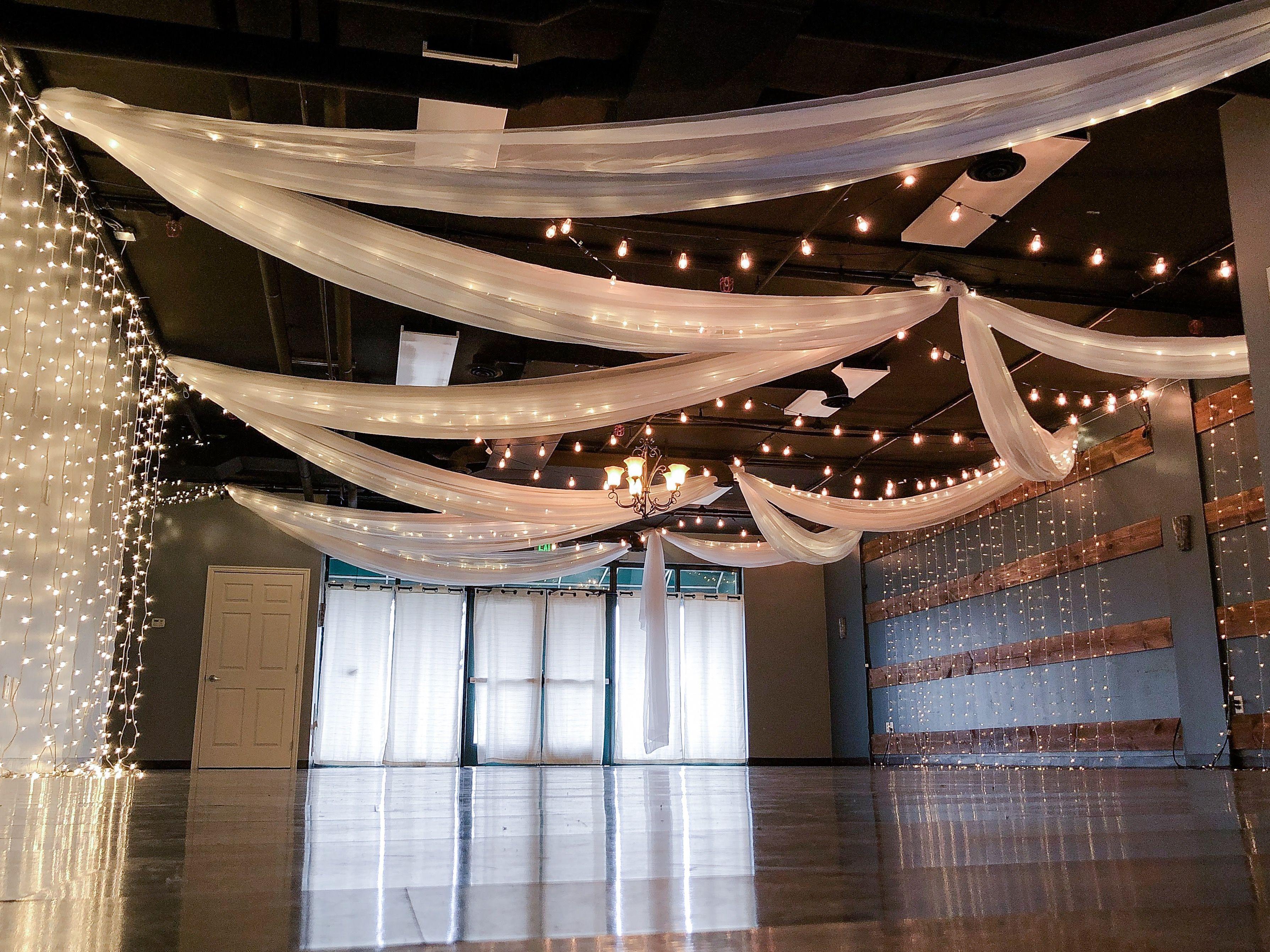 Wedding Draping | Intimate Wedding | Small wedding venue ...
