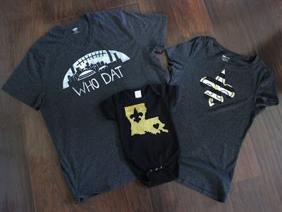 d1536fd3293 DIY New Orleans Saints T-Shirt Designs | My Blog | Saints shirts ...