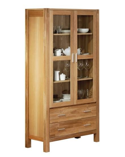 vitrine royal oak 2 t rig 359 95 d nisches bettenlager wohnen pinterest vitrine. Black Bedroom Furniture Sets. Home Design Ideas