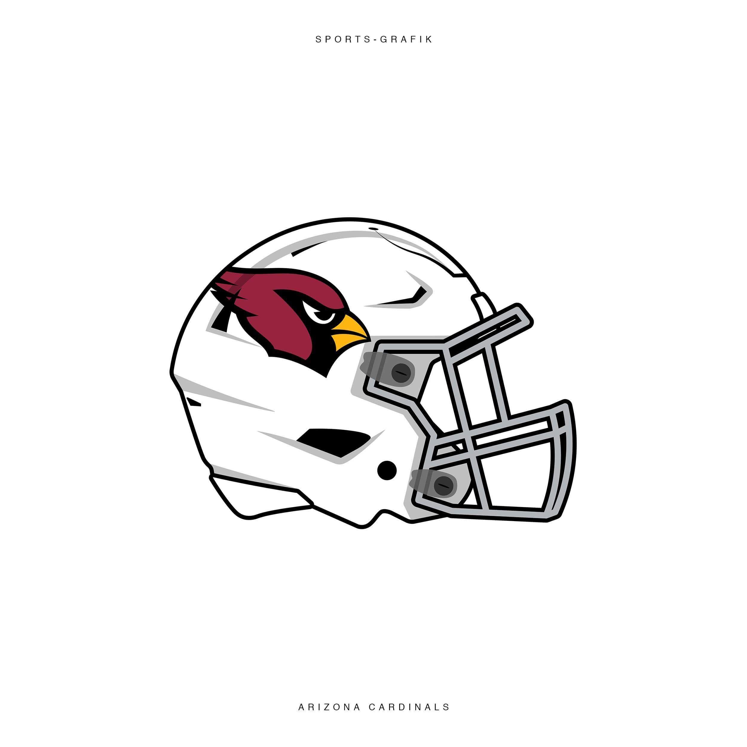 Arizona Cardinals Helmet Fanart Nfl American Football