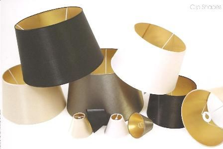 Black Gold Lampshade Obsession Black Lampshade Gold