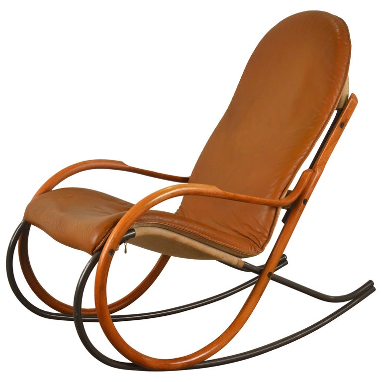 Fabulous Paul Tuttle Rocking Chair Strassle Switzerland 1970S Swiss Evergreenethics Interior Chair Design Evergreenethicsorg