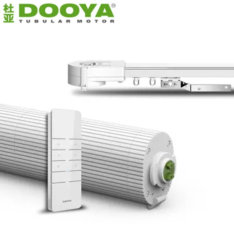 Dooya DT360E Electric Curtain Motor,Wifi Remote Control Curtain+Auto  Motorized Curtain Track For