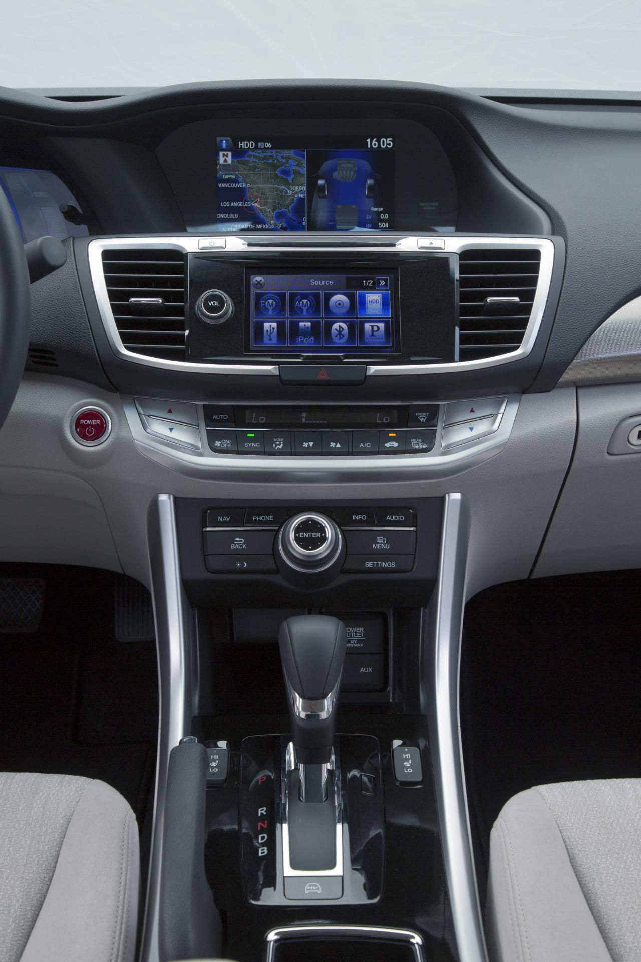 2014 Honda Accord PHEV Interior