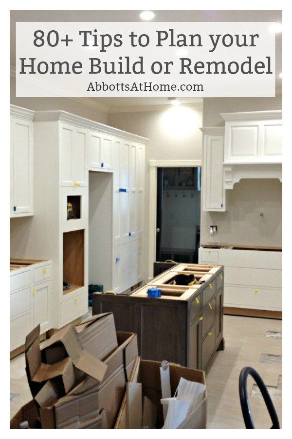 80+ Tips for Building a New Home or Planning a Remodel images