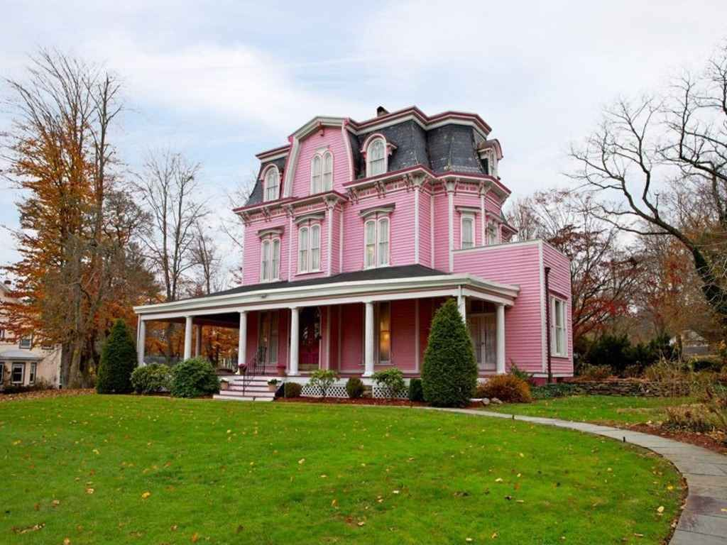 1892 second empire plainfield nj a pink house for me for Nj house builders