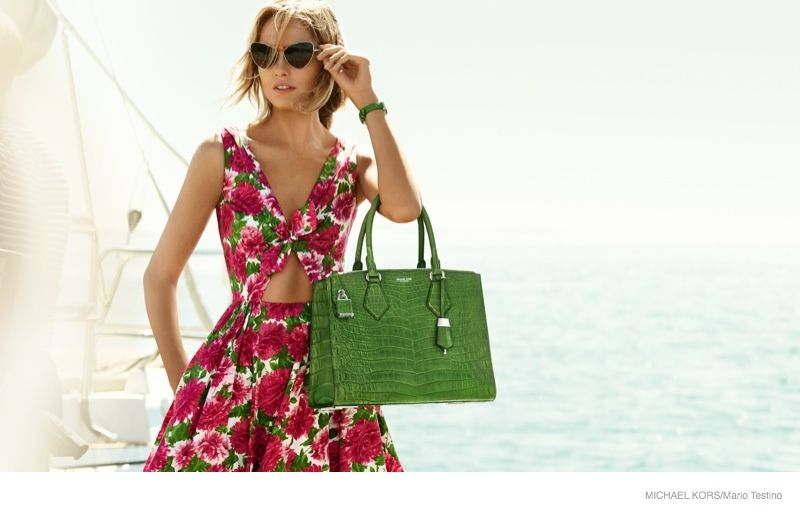 40c7fa553d Karmen Pedaru Goes Yachting for Michael Kors  Spring 2015 Campaign ...