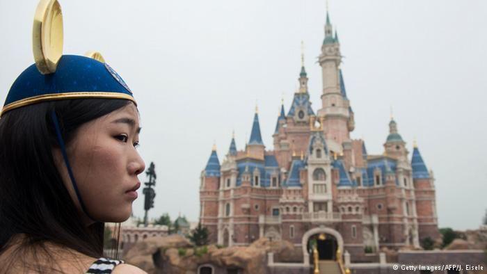 Abertura do parque temático da Disney em Xangai, na China