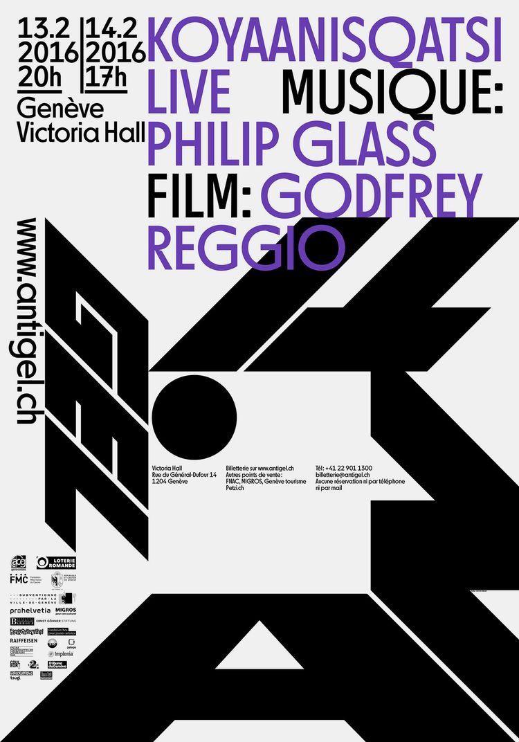 Ludovic Balland / Antigel / Koyaanisqatsi Live / Poster / 2016