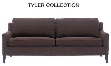 Tyler Sofa Mitchell Gold Contemporary Sofas