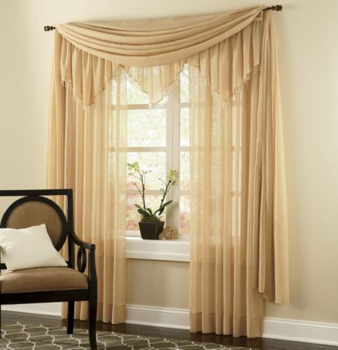 Crushed Voile Window Treatments From Through The Country Door®