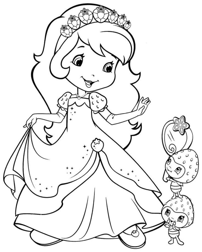 Barbie Coloring Pages Print Barbie Coloring Pages Cartoon Coloring Pages Strawberry Shortcake Coloring Pages