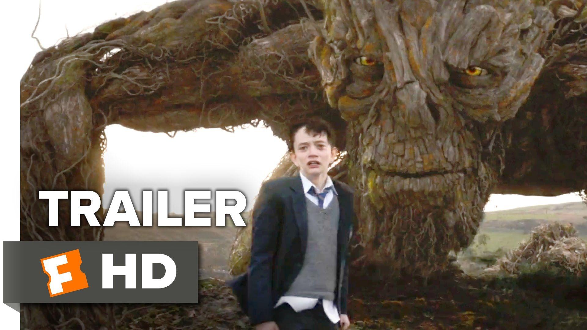 A Monster Calls Official Trailer 1 (2016) - Felicity Jones Movie:::