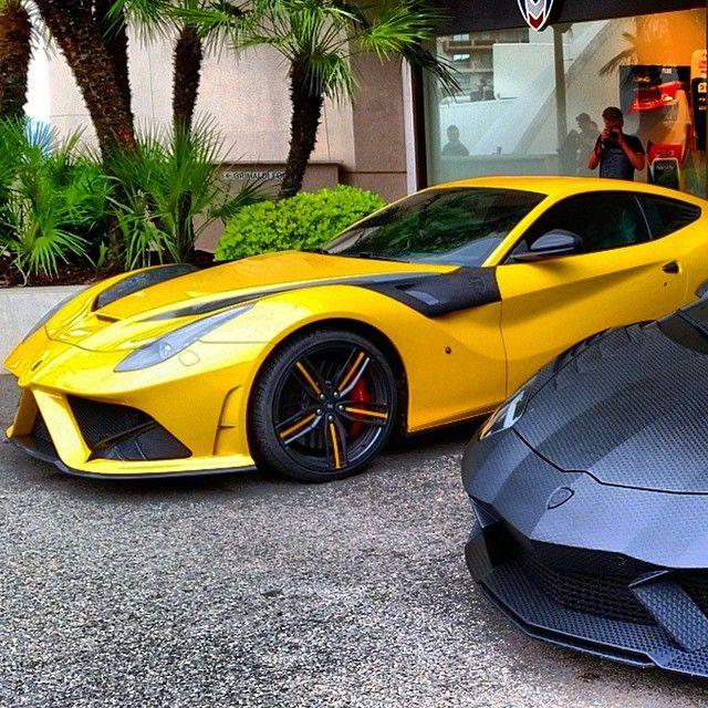 Mansory Ferrari F12 And Mansory Lamborghini Aventador Carbonado