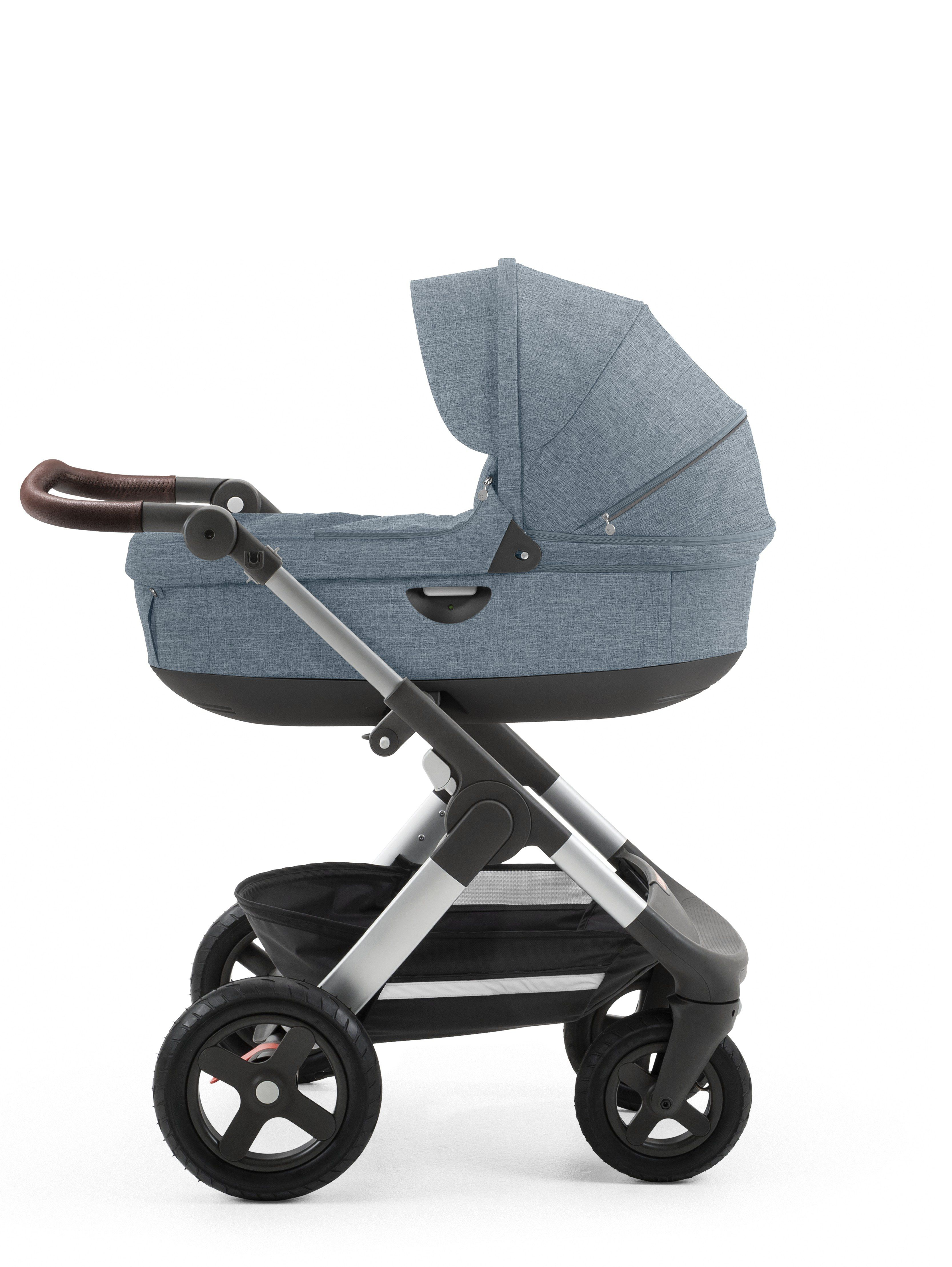 Stokke Trailz Stroller Nordic Blue With All Terrain