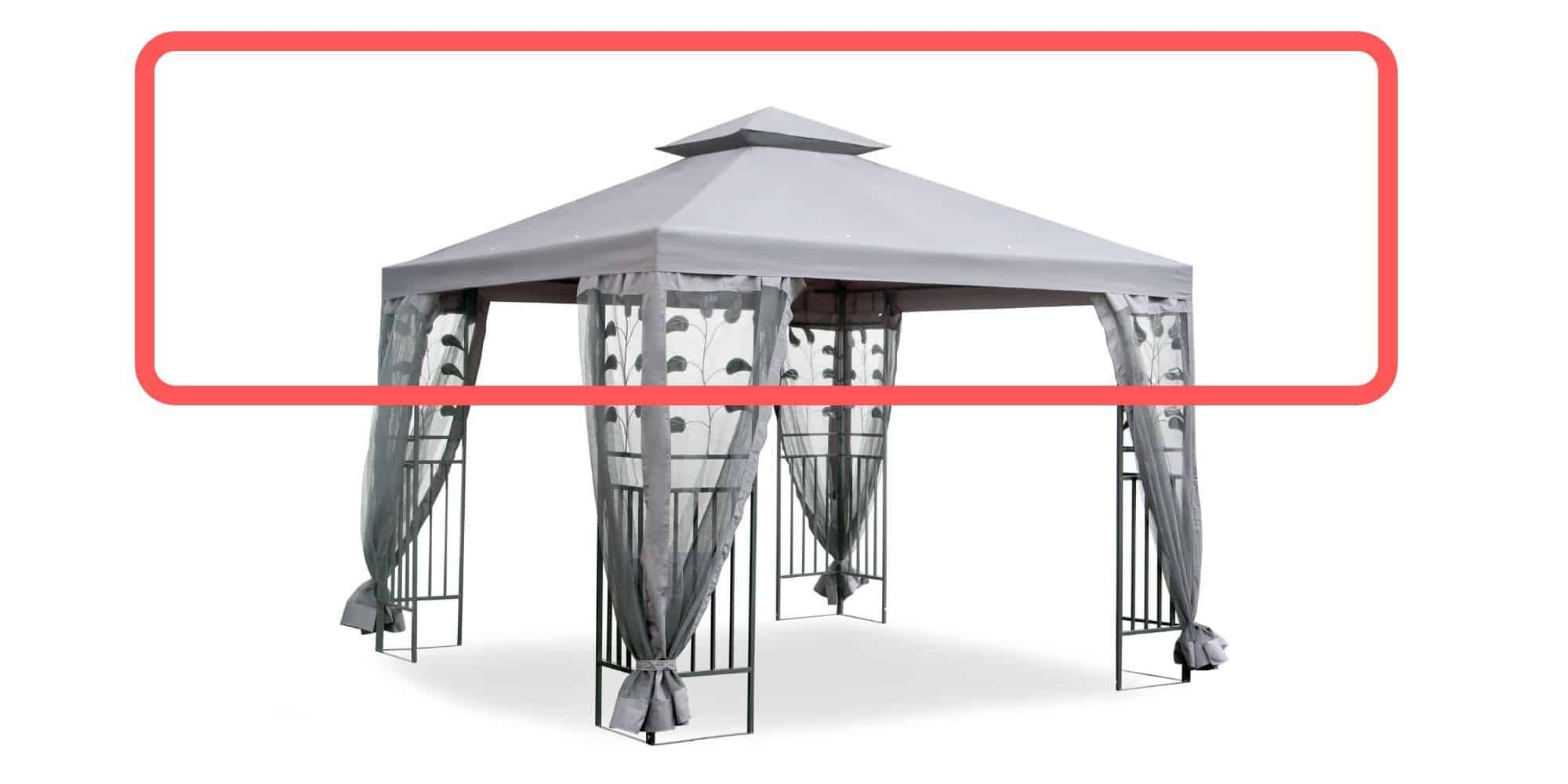 Replacement Canopy And Parts For Gazebo For 2020 In 2020 Rustic