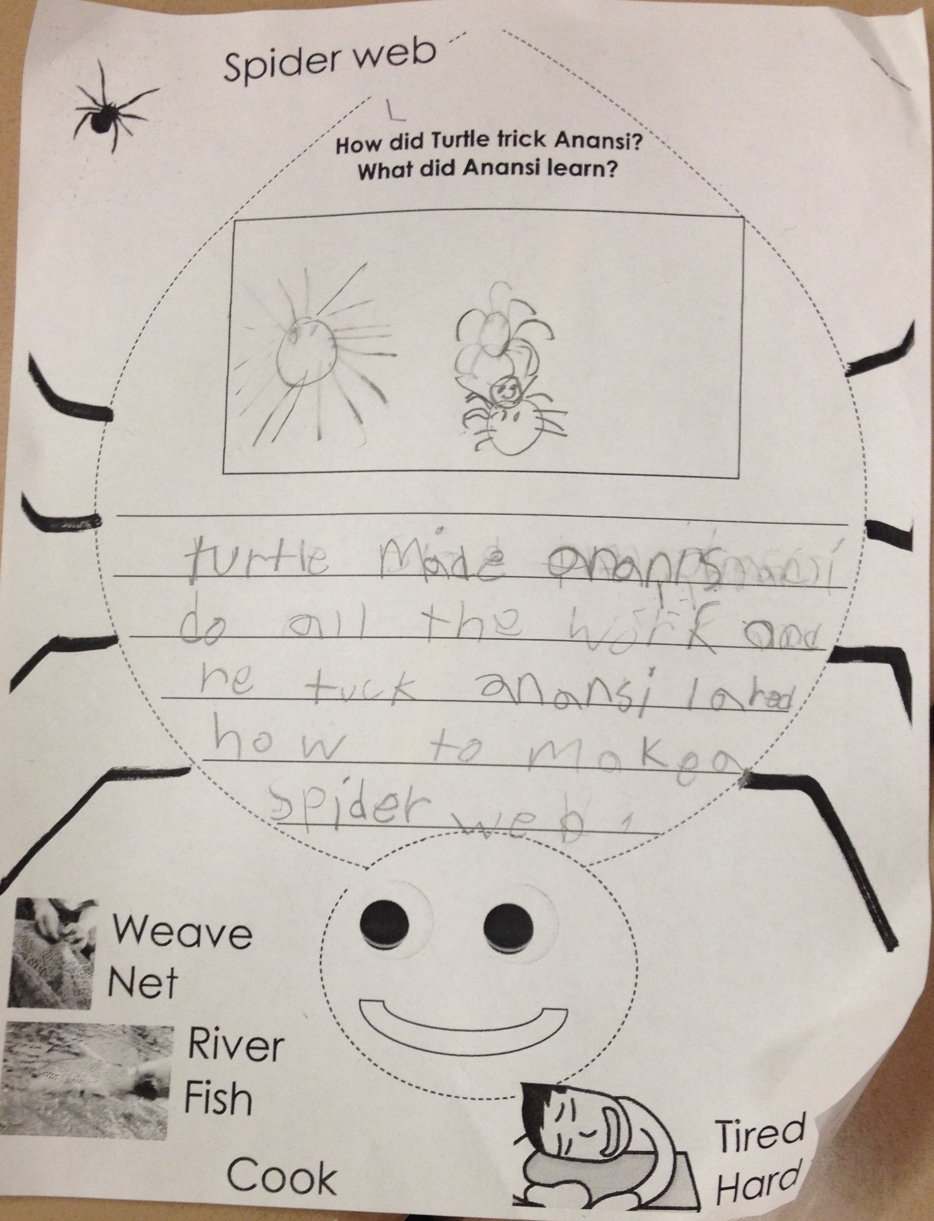 First And Second Graders Respond To Comprehension